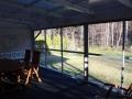 Terrace glazing